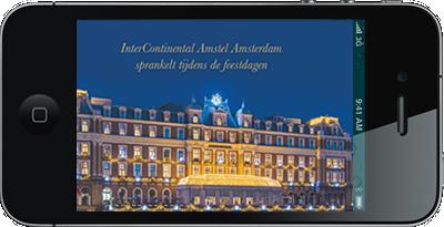 Digitale uitnodigingen Amsterdam Amstel Hotel