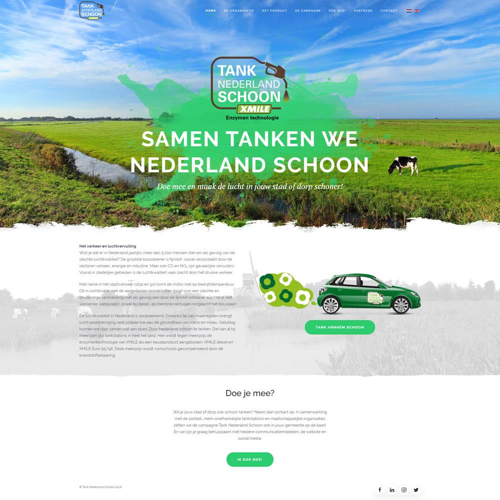 Tank Nederland Schoon