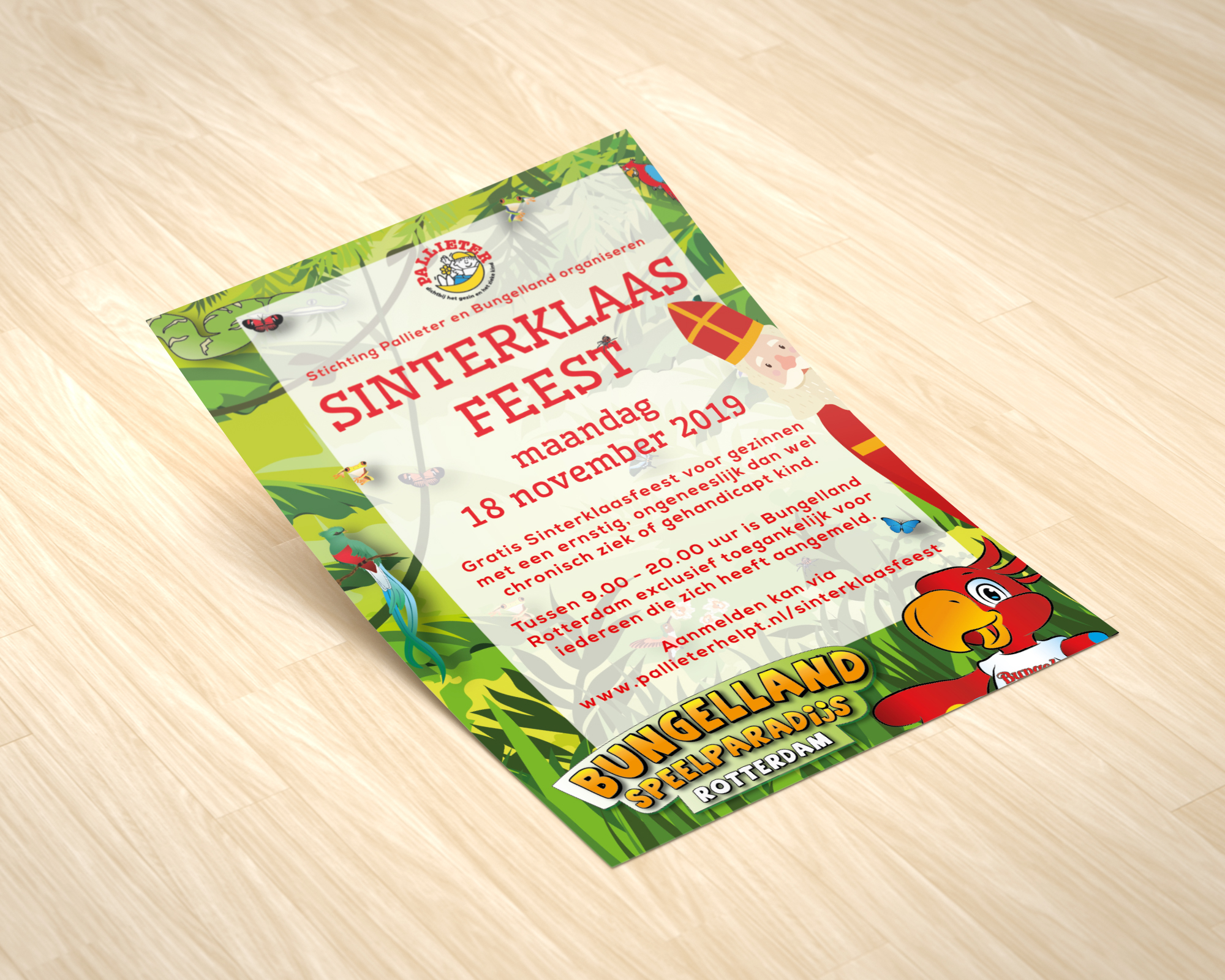 Flyer Sinterklaasfeest