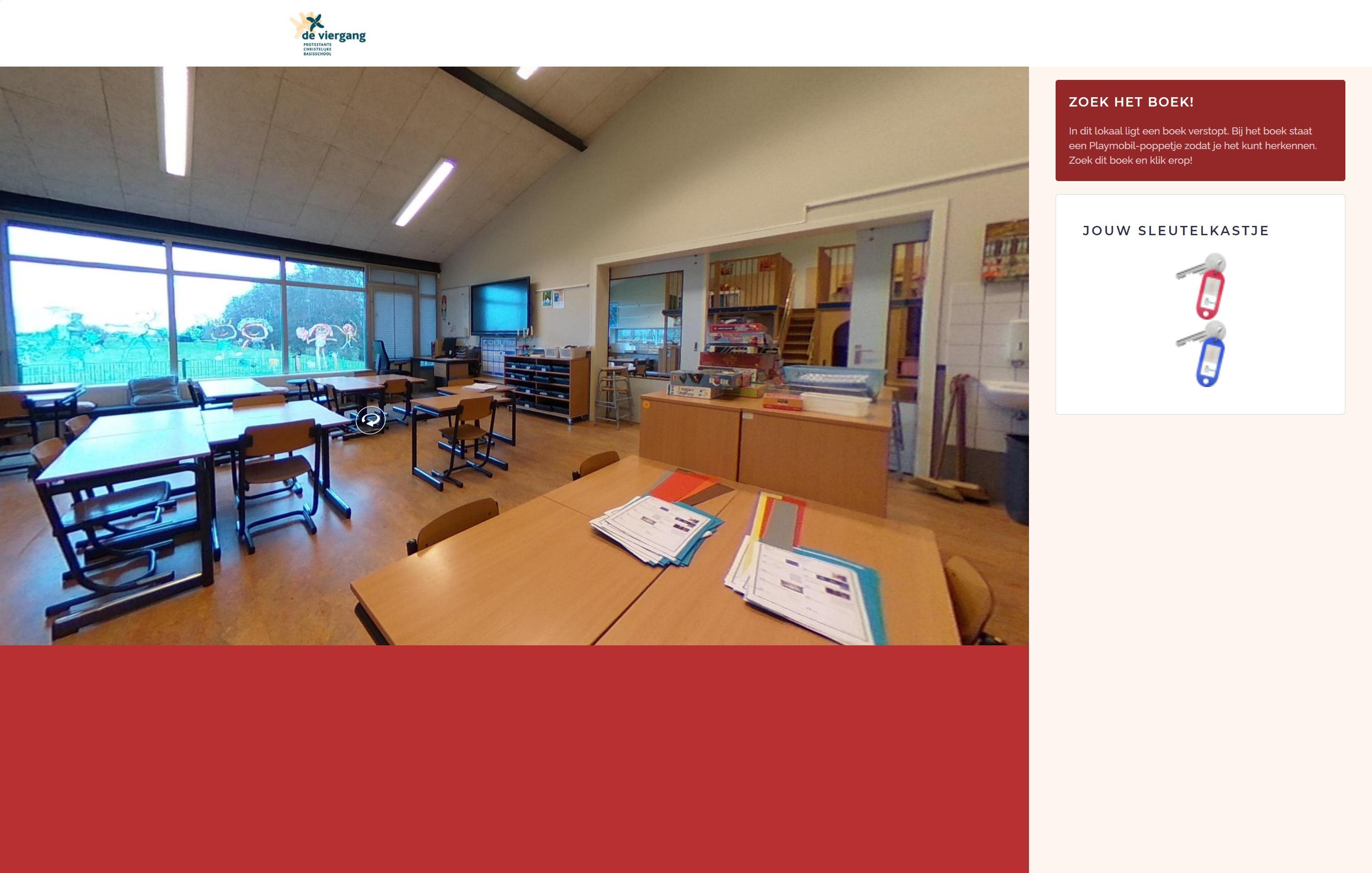 Virtuele speurtocht basisschool